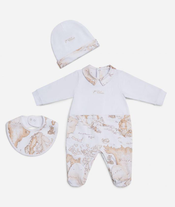 Baby set Geo Beige details