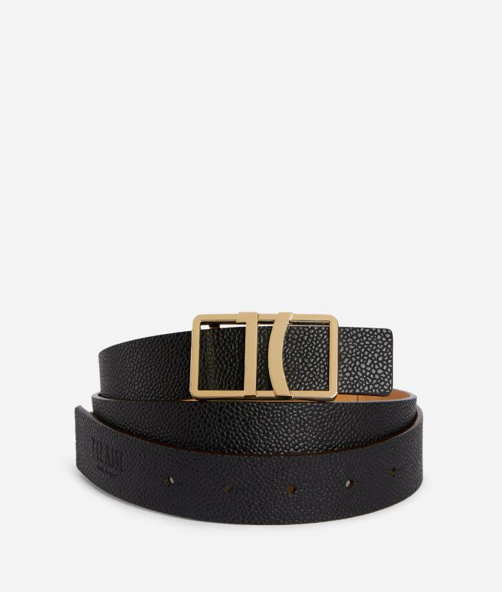 Dream Way Reversible belt Black
