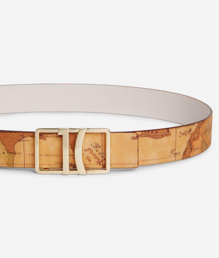 Dream Way Reversible belt White