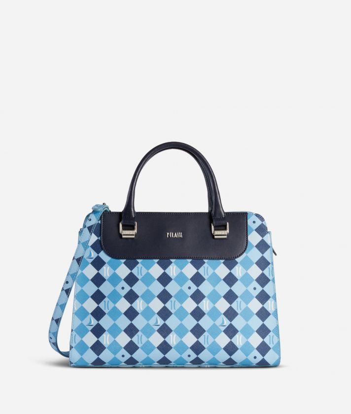 1C Ocean Handbag Blue