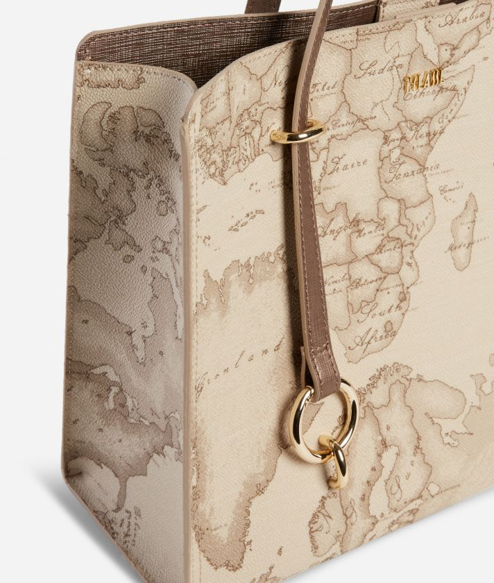 Geo Boulevard Convertible handbag in Geo Safari fabric