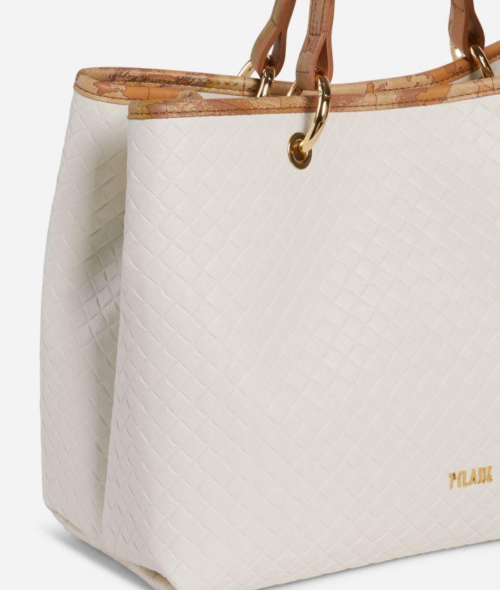 Beverly Handbag White