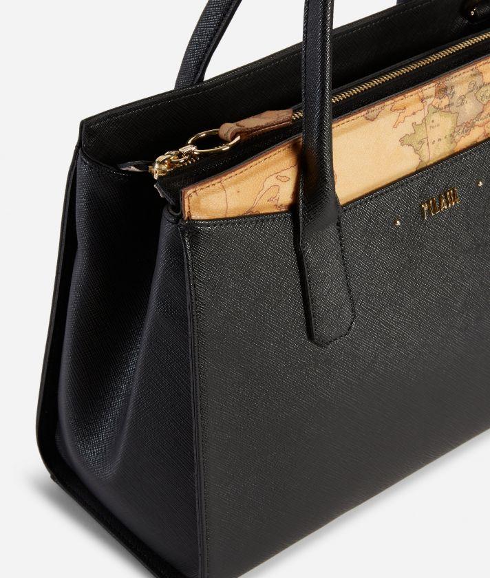 Star City Medium Handbag Black