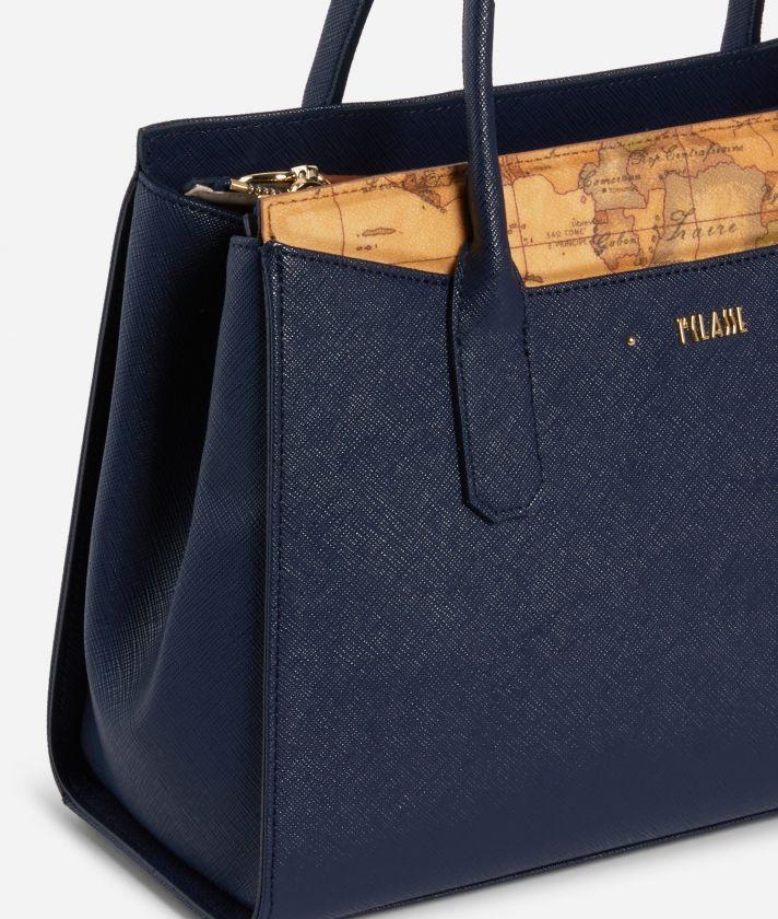 Star City Medium Handbag Blue