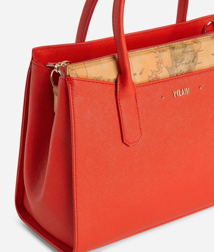 Star City Medium Handbag Red