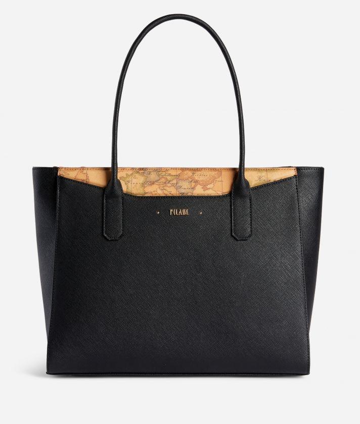 Star City Big shopping bag Black