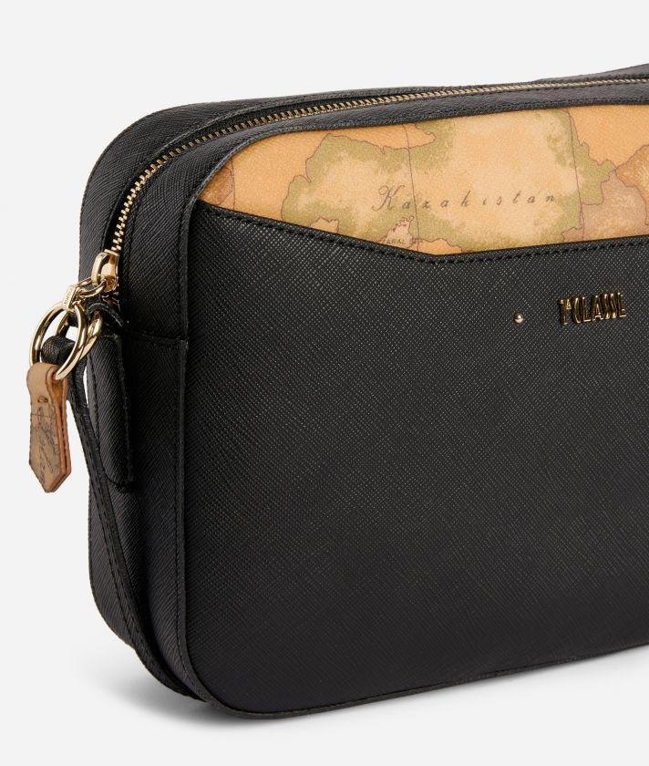 Star City Medium crossbody bag Black