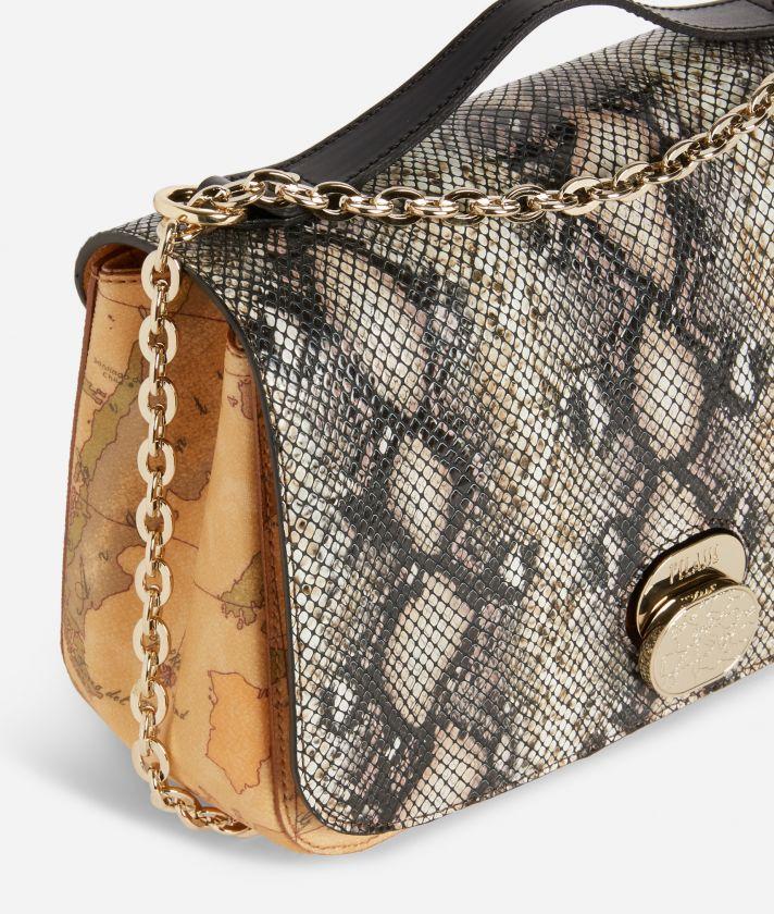 Lady Bag Crossbody bag in Geo Classic print fabric