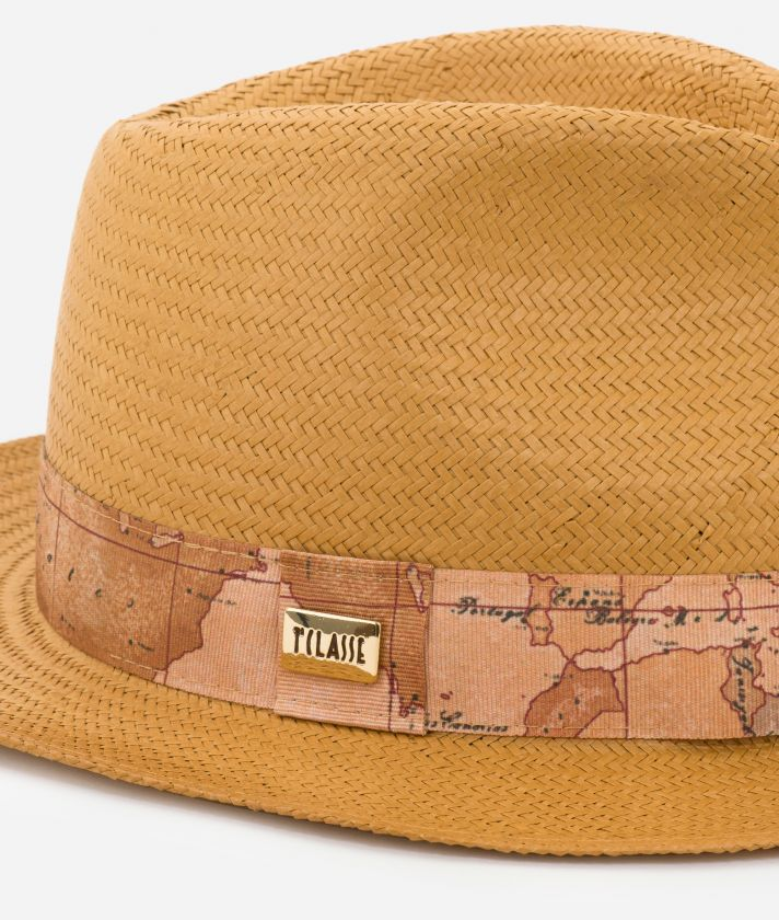 Casual Hat with Geo Classic detail Yellow