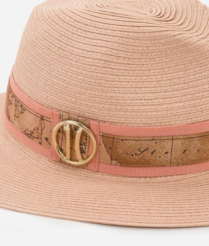 Cappello con nastro stampa Geo Classic e logo 1C Rosa