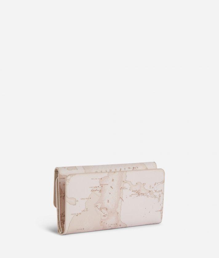 Geo Nude Bifolder wallet Pink