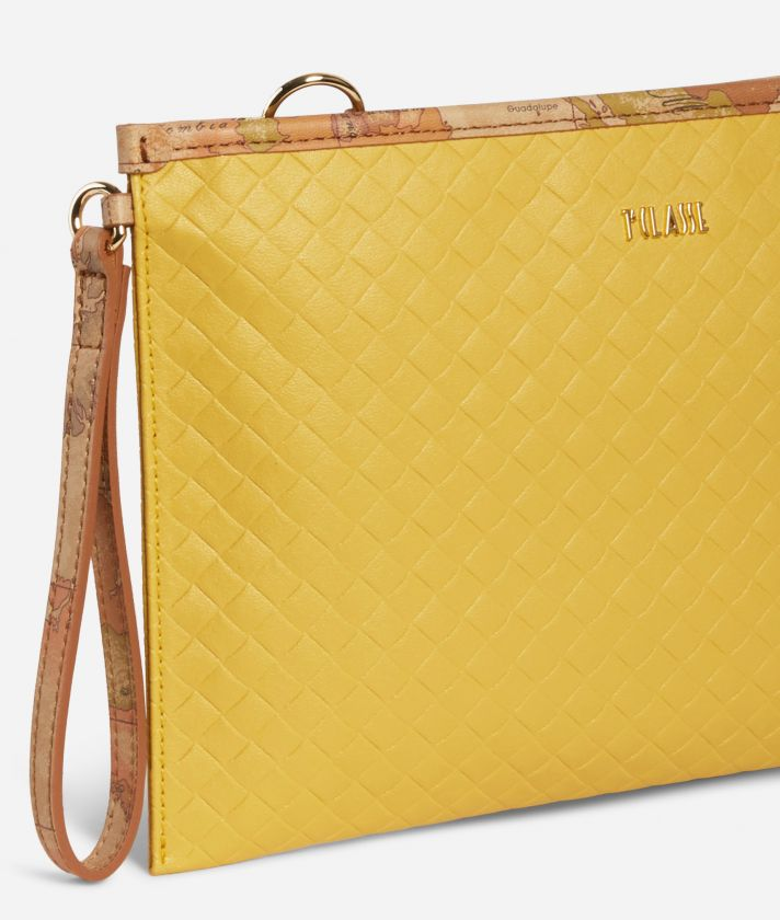 Beverly Clutch Yellow