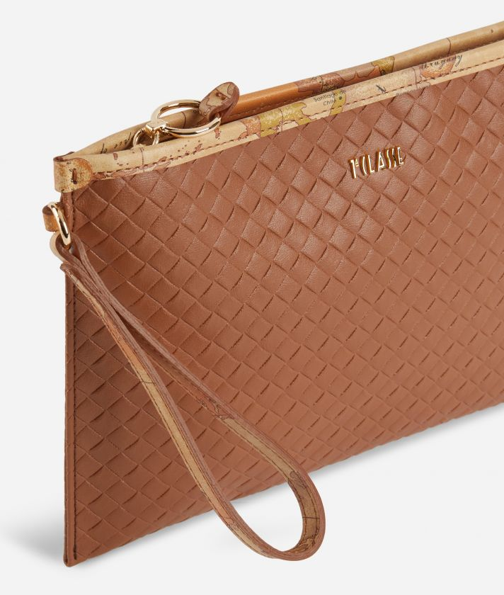 Beverly Clutch Brown
