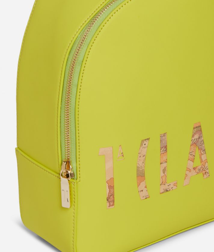 Summer Vibes Backpack with maxi logo 1a Classe Lime Green