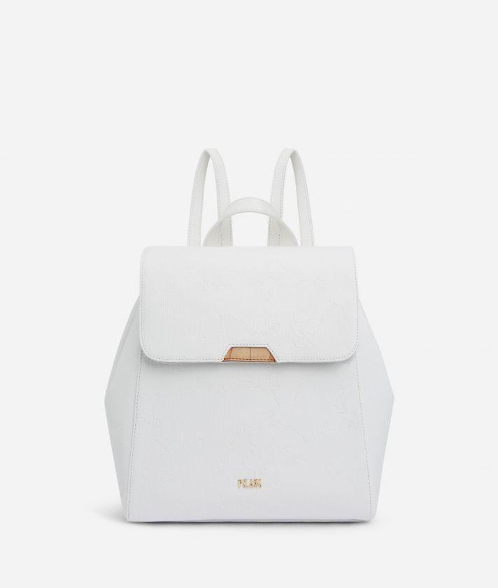 Dream Geo Backpack White