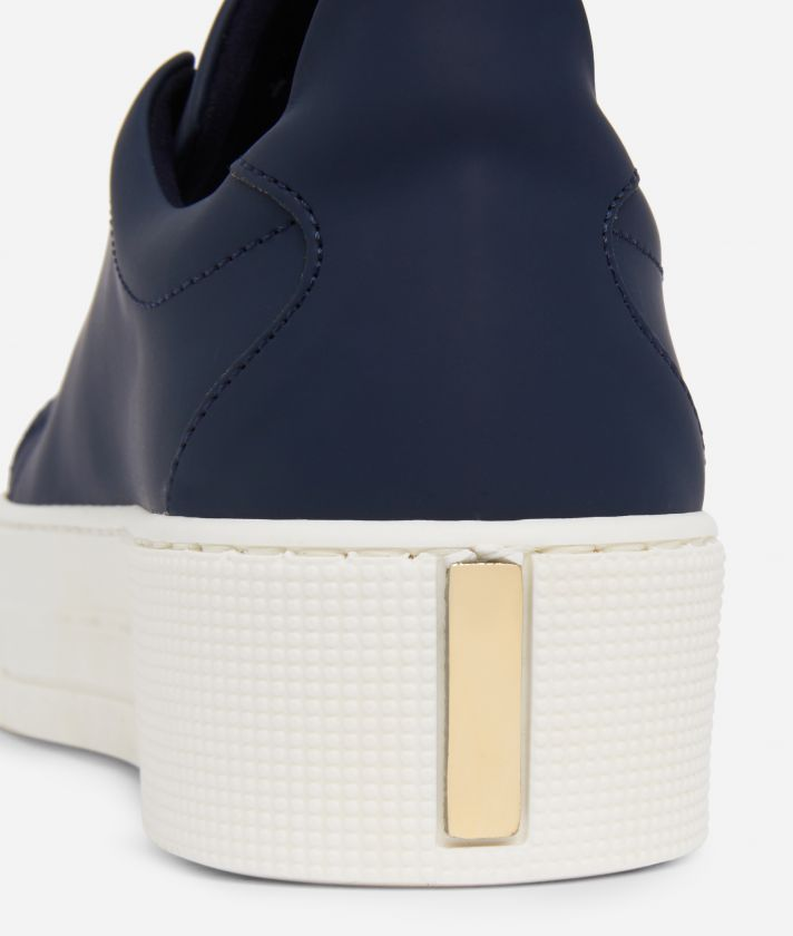 Summer Vibes Sneakers with maxi logo 1a Classe Navy Blue