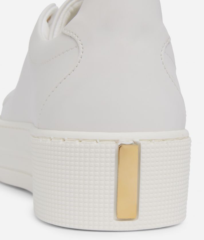 Summer Vibes Sneakers with maxi logo 1a Classe White