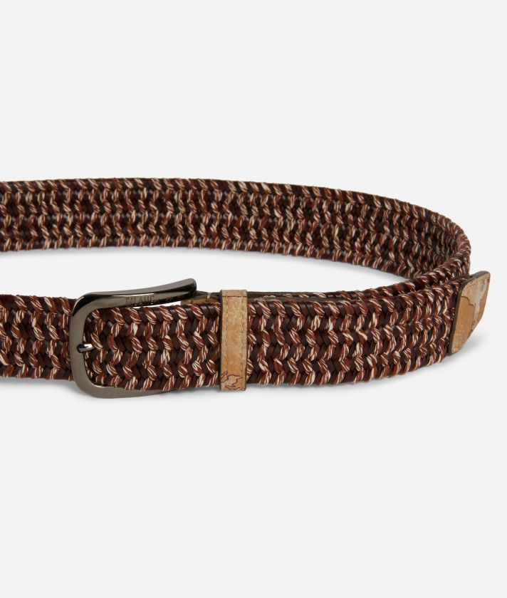Belt in leather Brown