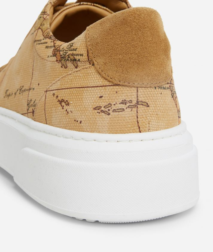 Sneakers Uomo in canvas stampa Geo Classic