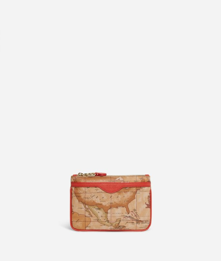Soft Sound Pouch in Geo Soft Classic fabric Red