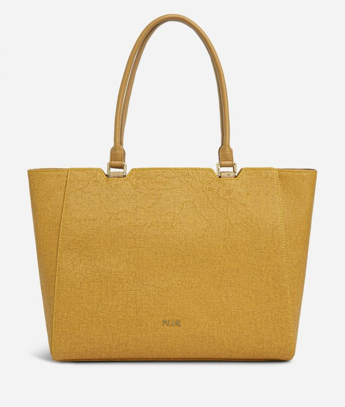 Dream Geo Shopping bag Grain Yellow