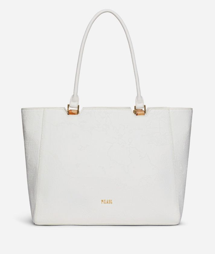 Dream Geo Shopping bag White
