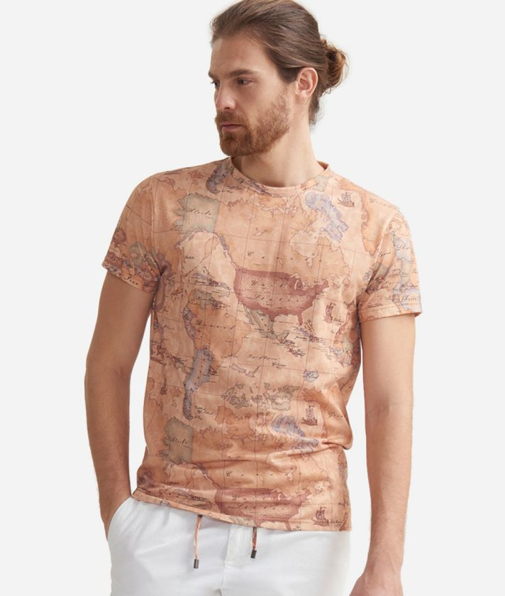 T-shirt with Geo Classic print