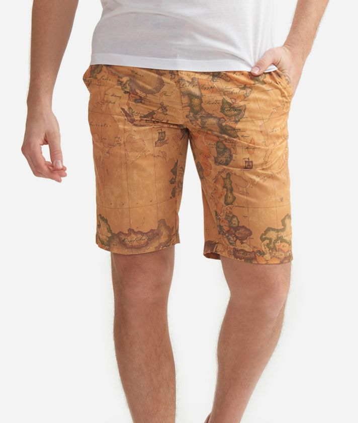 Shorts with Geo Classic print