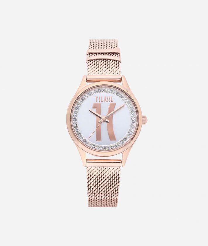 Mykonos Stainless steel watch Rose Gold