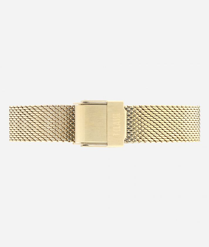 Antigua Bicolor stainless steel watch Gold and Silver