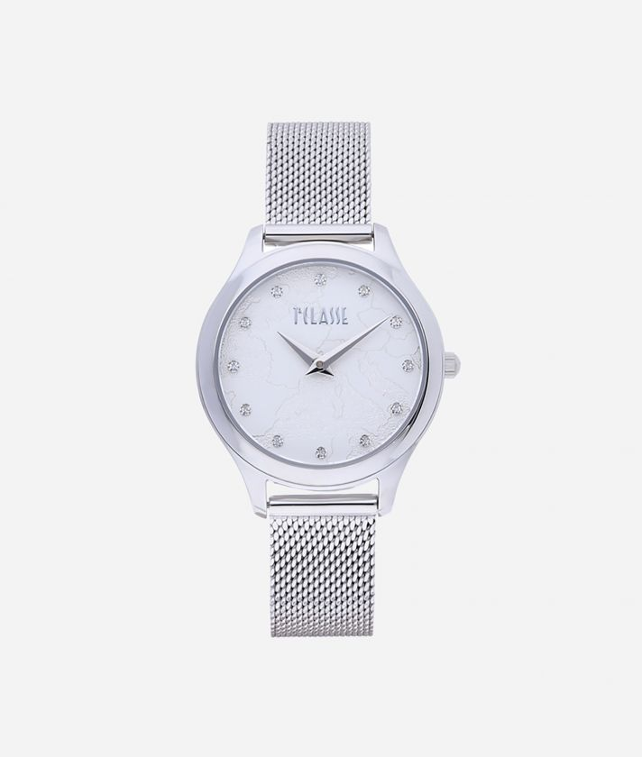 Ischia Stainless steel watch Silver