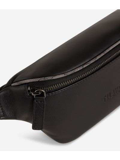 Belt bag leather black