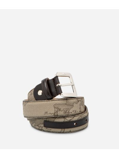 Geo Tortora Belt with metal buckle