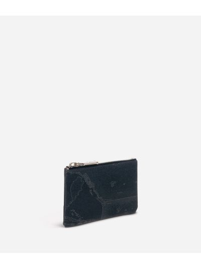 Geo Black Rectangular pouch