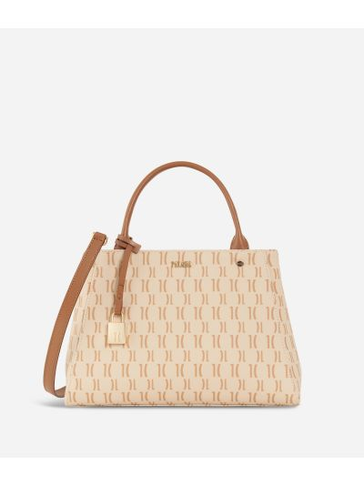 Monogram Small Handbag Cream