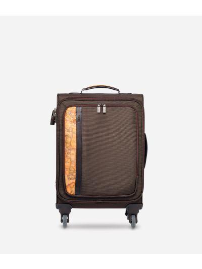Work Way Small nylon suitcase