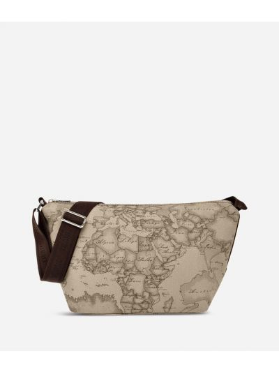 Geo Tortora Large crossbody bag