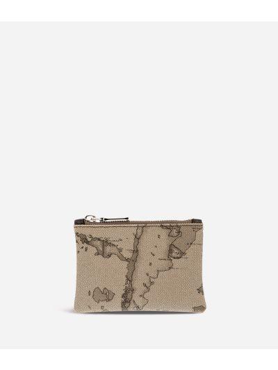 Geo Tortora Rectangular pouch