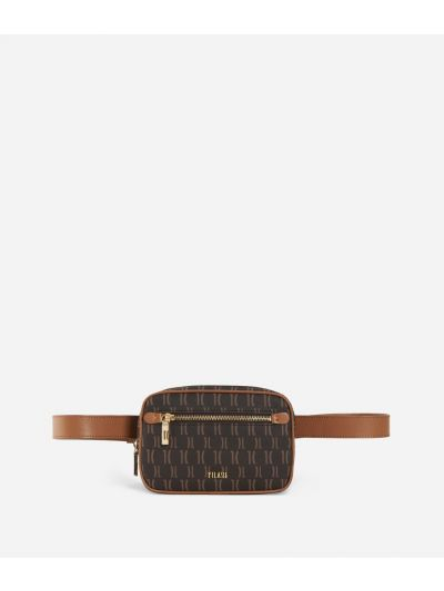 Monogram Belt Bag Marrone