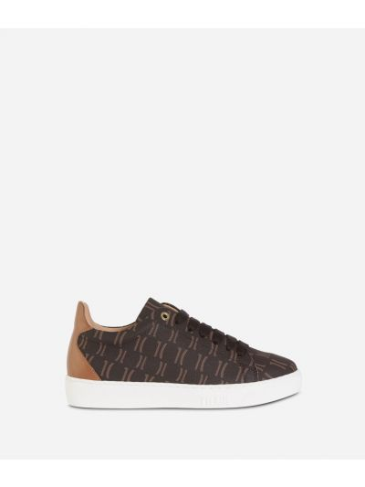 Monogram Sneakers Cuoio