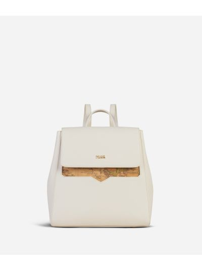 Medina City Backpack White