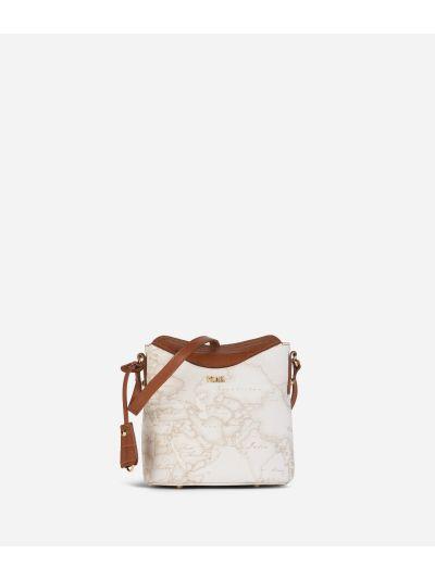 Charme Geo White Bucket Bag White