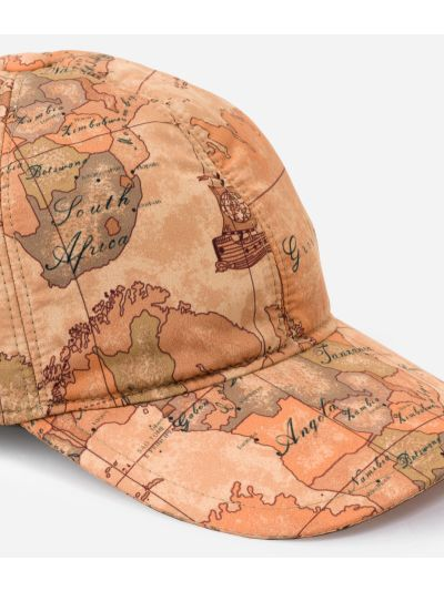 Baseball cap in Geo Classic print fabric