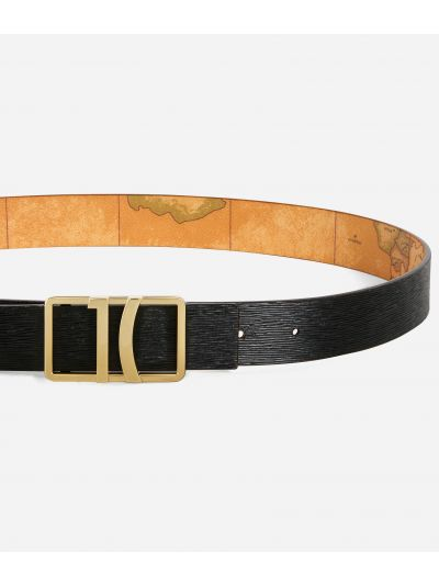 Deco Smile Reversible belt Black