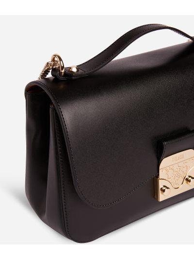 Joy Bag Crossbody bag in smooth cowhide leather Black
