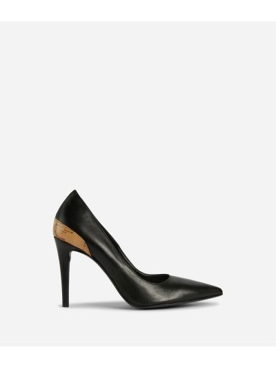 Pumps in smooth leather Black
