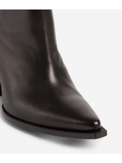 Texas boots in smooth leather Black