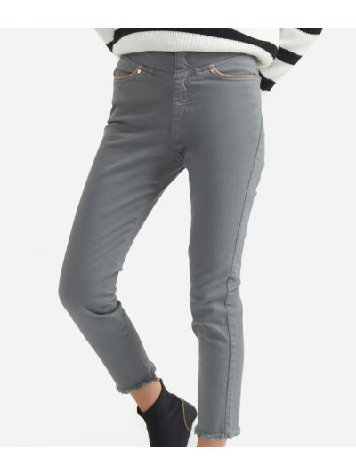5-pockets skinny pants Grey
