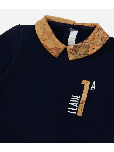 Completo due pezzi  con logo 1A classe Blu