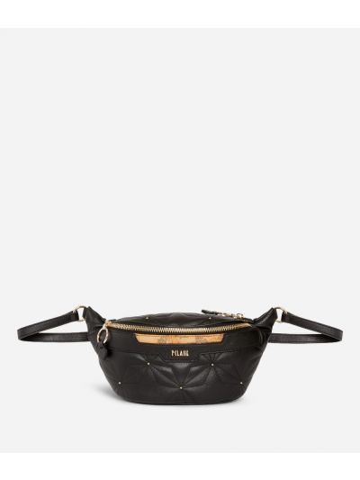Shiny Star Belt Bag Black